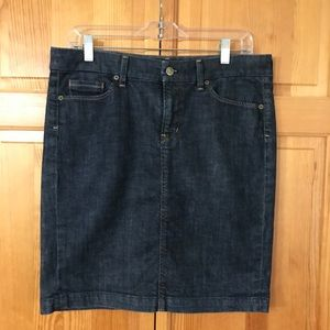 Citizens of Humanity Denim Pencil Stretch Skirt 30